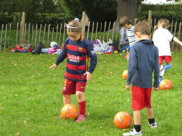 Year 3 & 4 Football Club Practice (1)